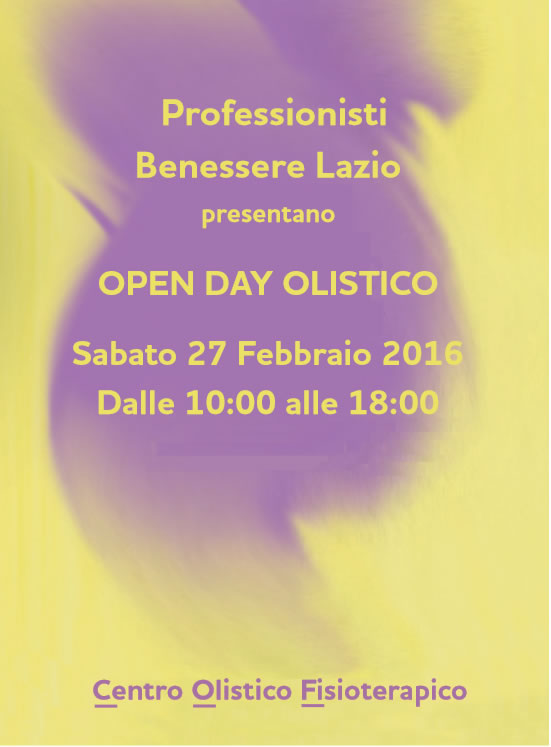 open day fronte