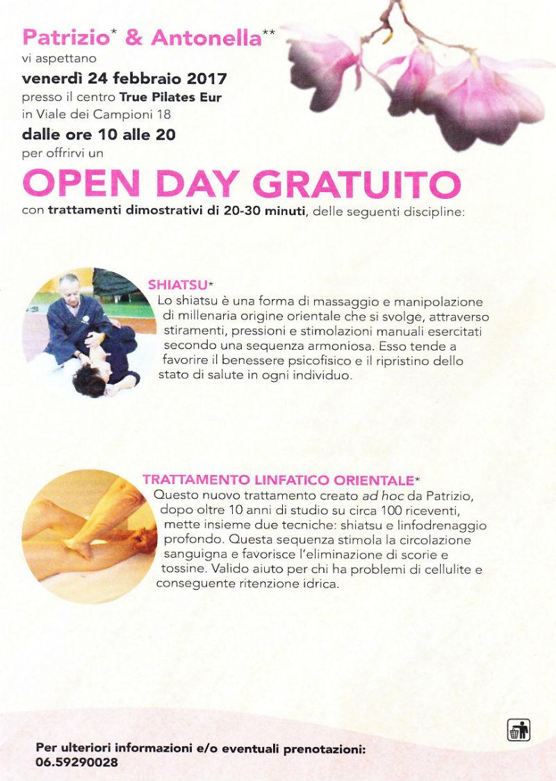 open day gratuito